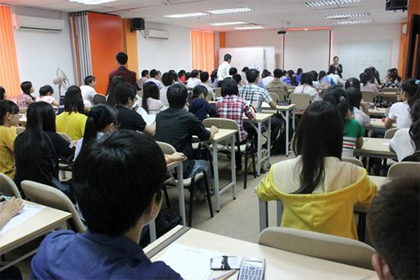 Các thí sinh thi tại thành phố Hồ Chí Minh